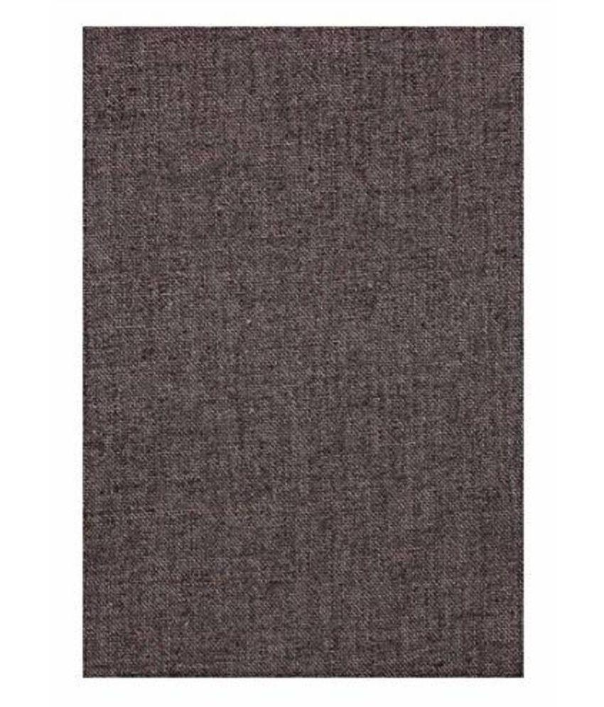 Dearman Gwalior Suitings Brown Cotton Blend Unstitched Pant Pc