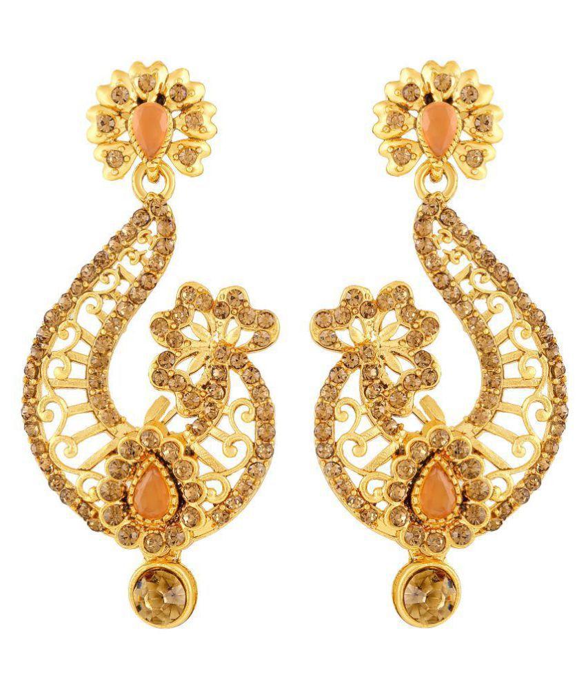 MFJ Fashion Jewellery Multicolor Fashionable Earring For Women