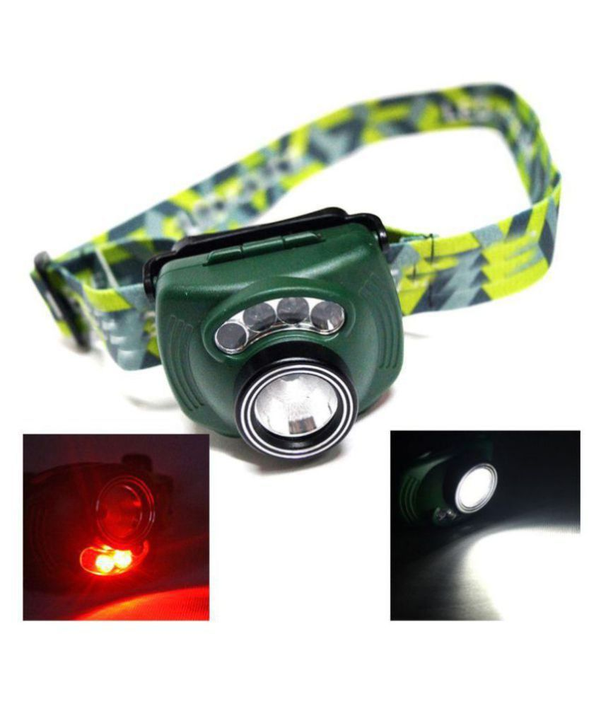 PIR Sensor Motion LED Headlamp Headlight Head lamp light Torch Flashlight