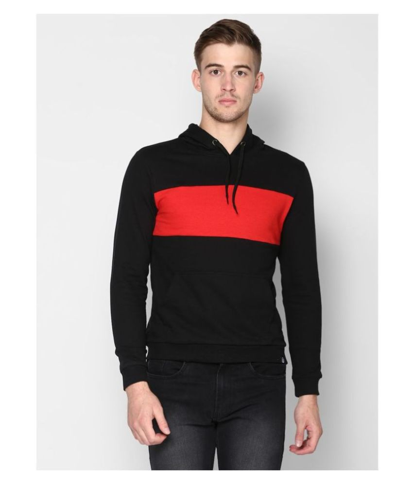 Urbano Fashion Black Sweatshirt