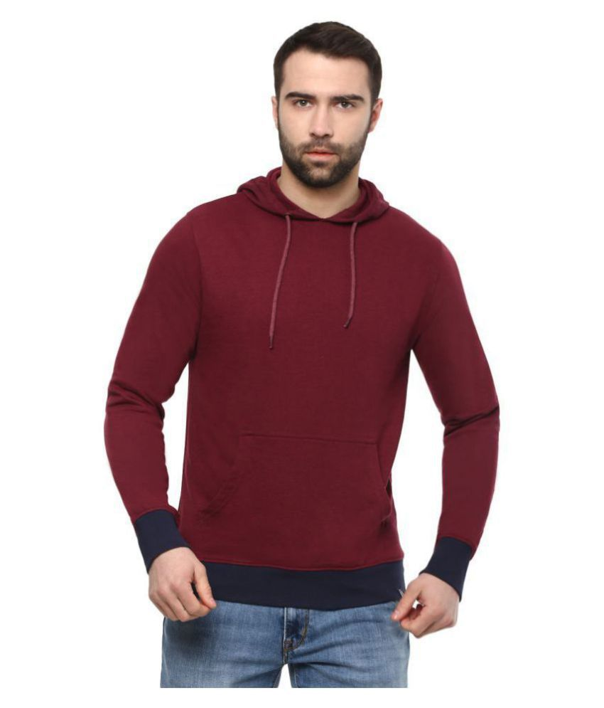 Urbano Fashion Maroon Sweatshirt