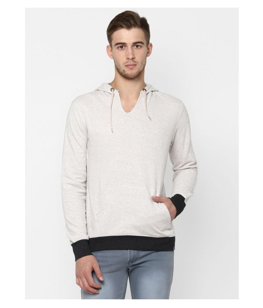 Urbano Fashion White Sweatshirt