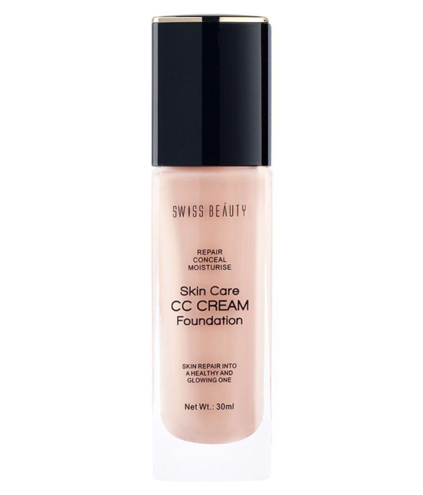 Swiss Beauty CC Cream Foundation (Rose Blush), 30ml