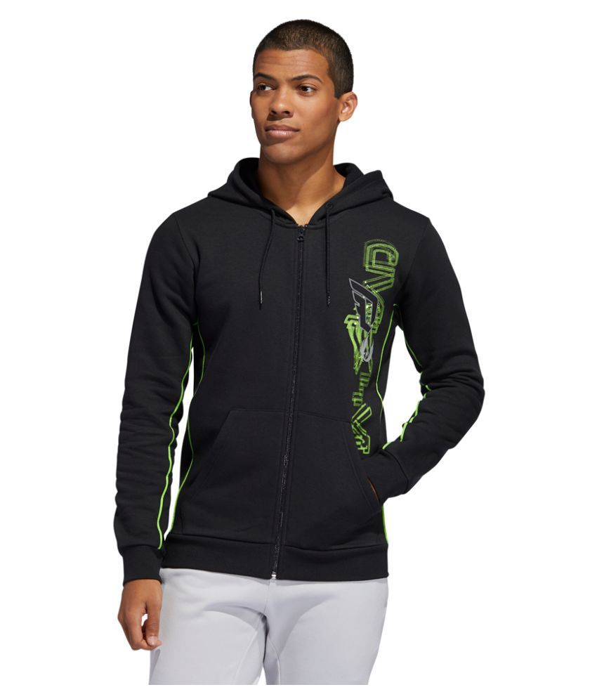Adidas Black Polyester Sweatshirt