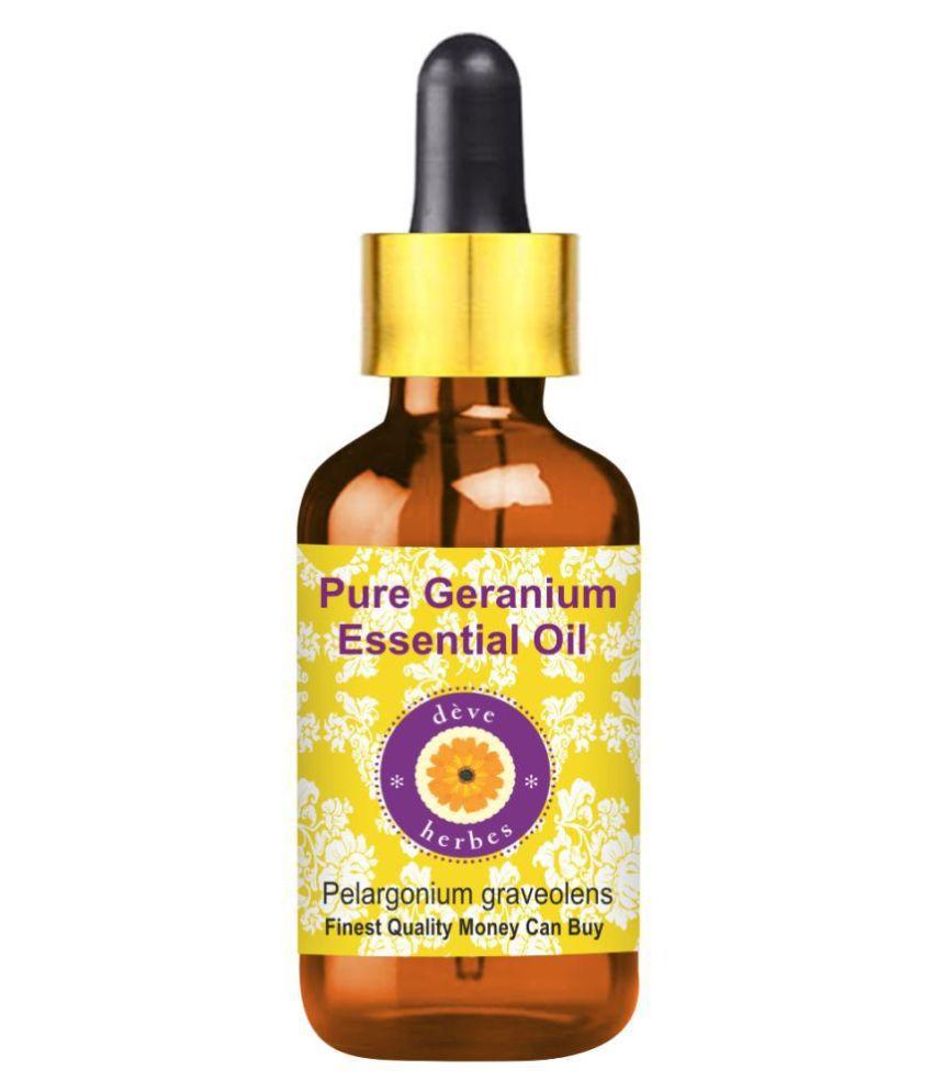 Deve Herbes Pure Geranium Essential Oil 30 mL