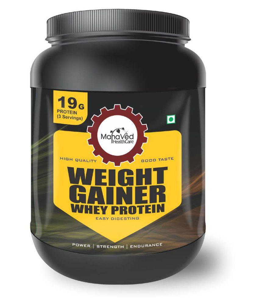 Mahaved Weight Gainer Whey Protein Supplement 1 kg Weight Gainer Powder
