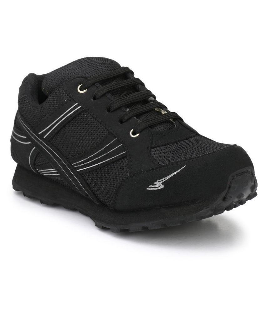 Sir Corbett Black Running Shoes