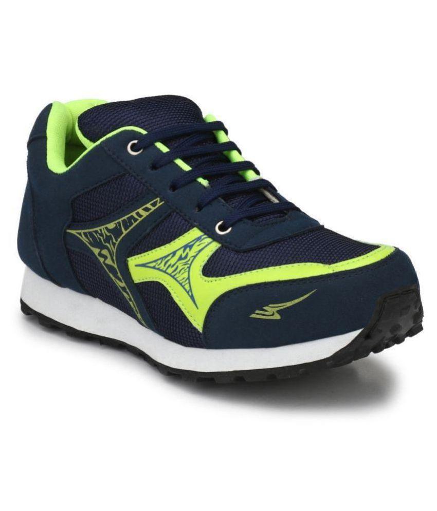 Sir Corbett Blue Running Shoes
