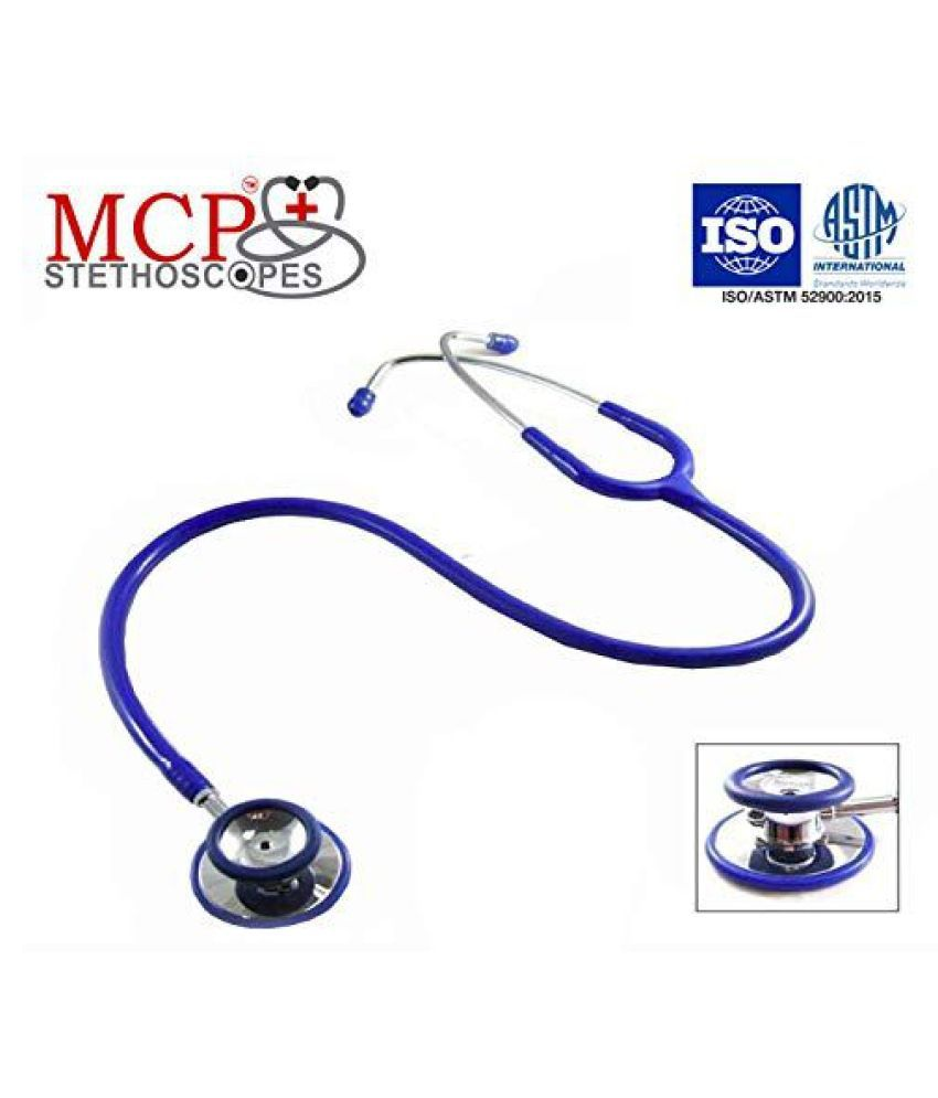 Mcp Dual Head Stethoscope Blue for doctor & Student cm Adult
