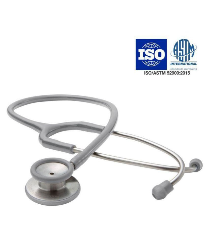 Mcp Dual Head Stethoscope Grey for Doctors & Students cm Adult