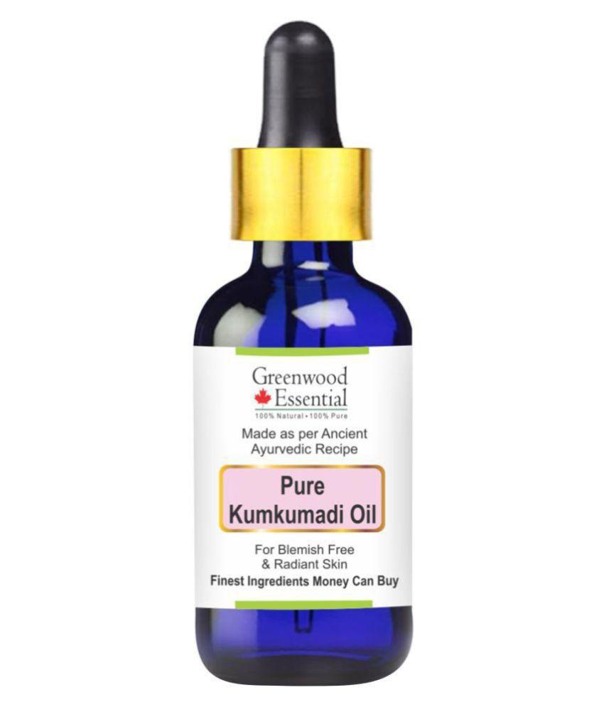Greenwood Essential Pure Premium Kumkumadi Carrier Oil 100 ml