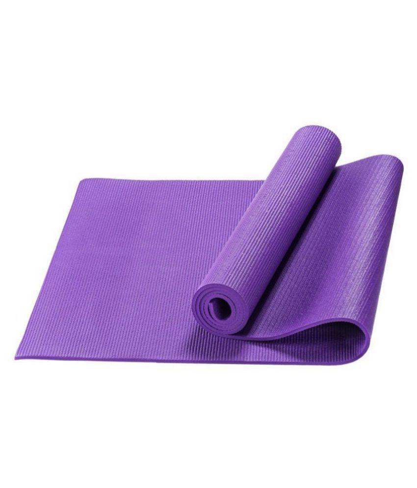 R home Purple Single Floor Mat