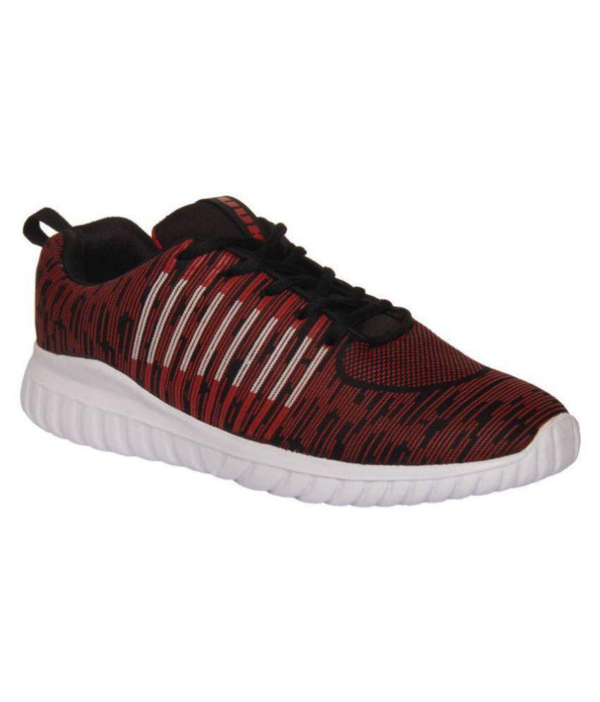 YUUKI FINLEY Red Running Shoes