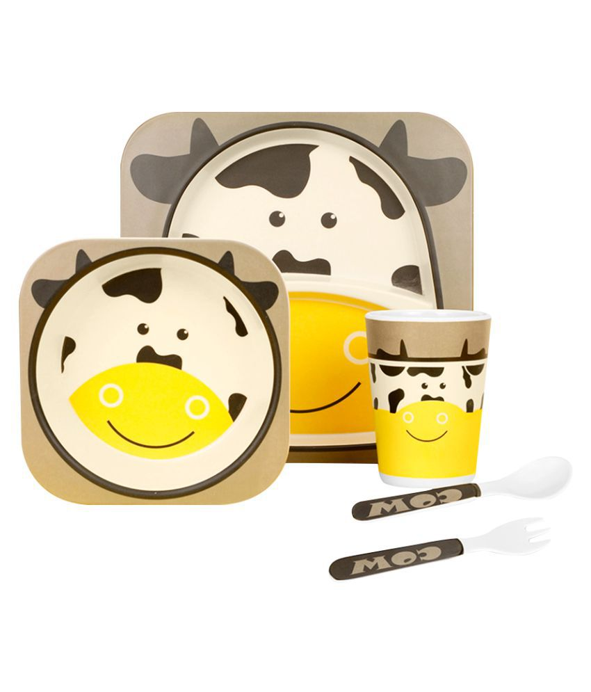 Inone Bamboo Fiber 4 pc Feeding set