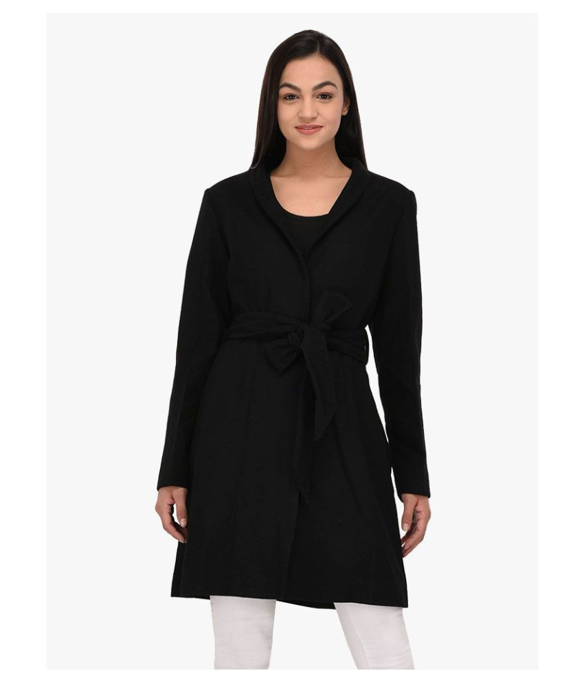 Owncraft Woollen Black Over coats