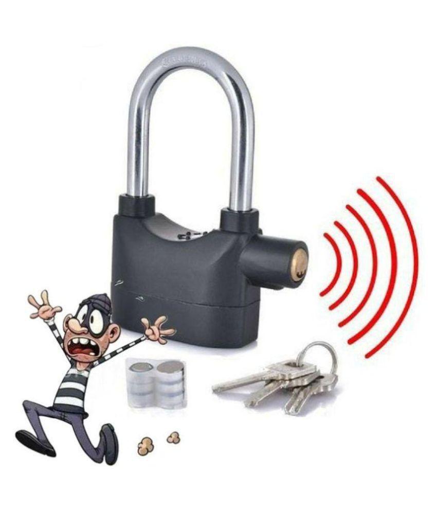 DREAMSKART Alarm Lock Anty Motion Siren For Home, Bike, Bicycle, Shop, Office, Locker, Etc..