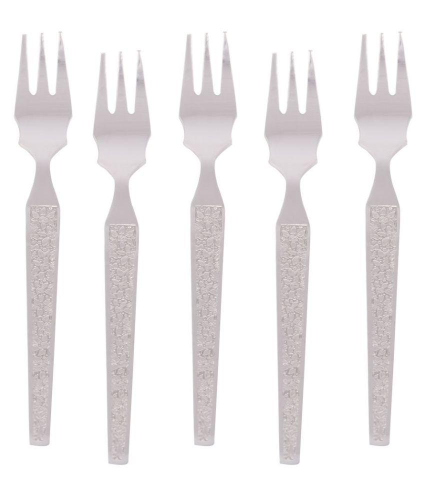 Kishco Limited 6 Pcs Stainless Steel Fruit Fork