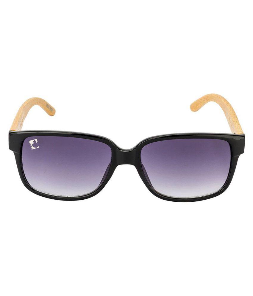 Clark n' Palmer - Grey Oversized Sunglasses ( 10352-02 )