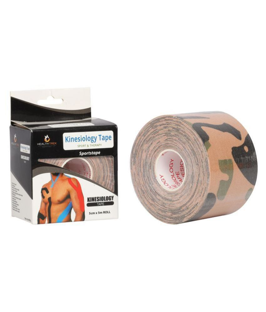 Healthtrek Kinesiology Tape Lower back, knee & Thigh Support Free Size