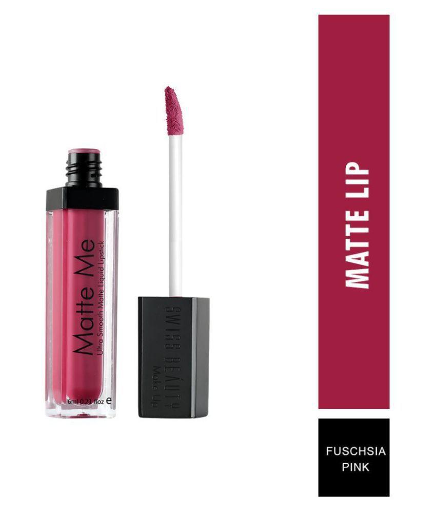 Swiss Beauty Liquid Lipstick Shade Fuchsia Pink 6 mL