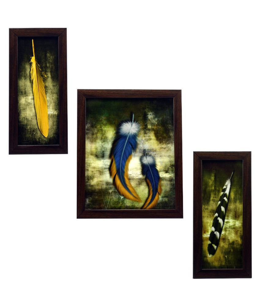 Indianara Synthetic Painting With Frame