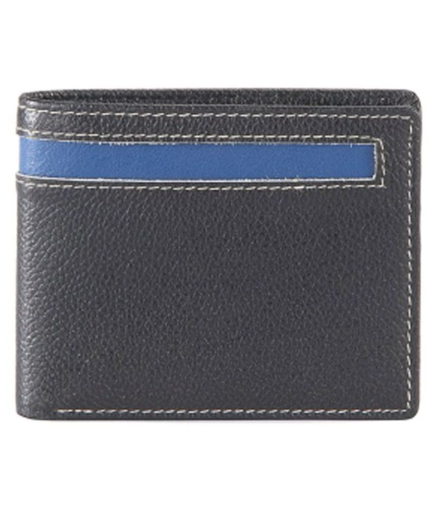 Goodwill Leather Art Leather Black Casual Short Wallet