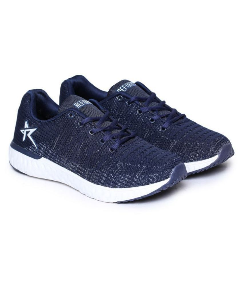 REFOAM Navy Running Shoes