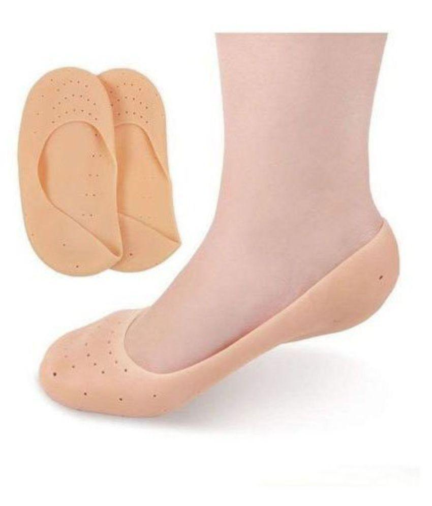 Silicone Smiling Foot Anti-Chapped Moisturizing Silicone Full Heel Socks
