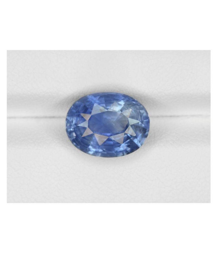 A1 Gems 9 - 9.5 -Ratti Self certified Blue Sapphire (Neelam)