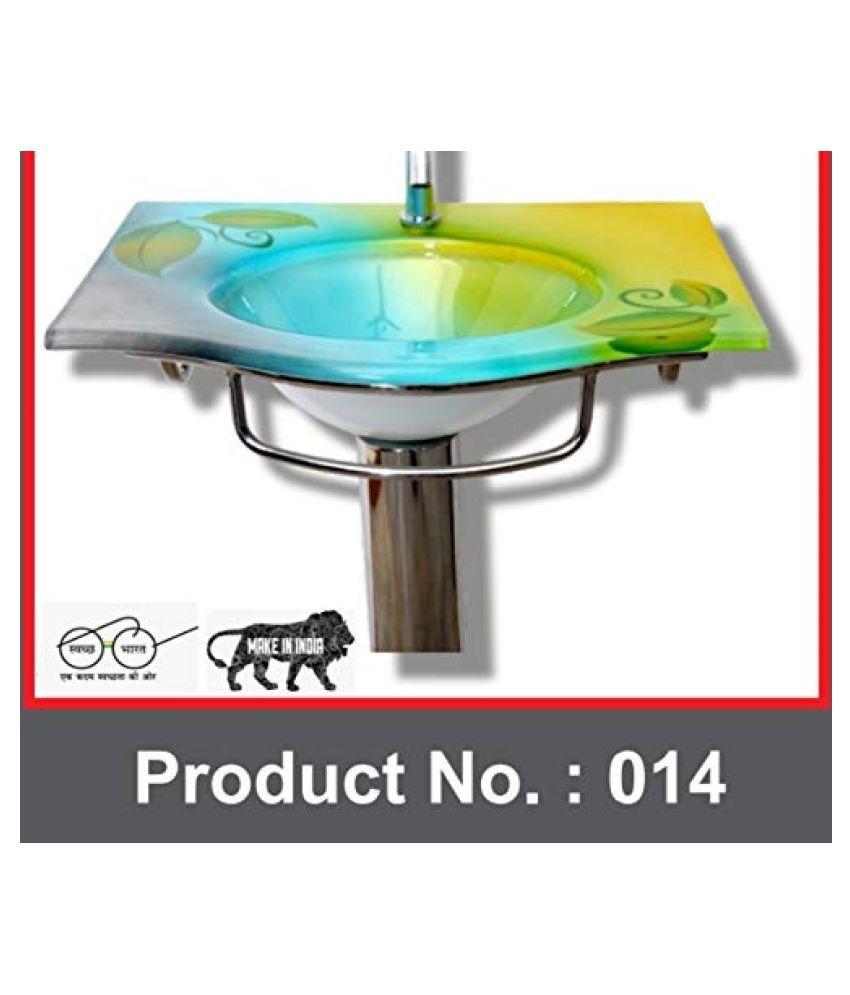 ARVIND SANITARY PVT LTD Assorted Toughened Glass Wall Hung Wash Basins
