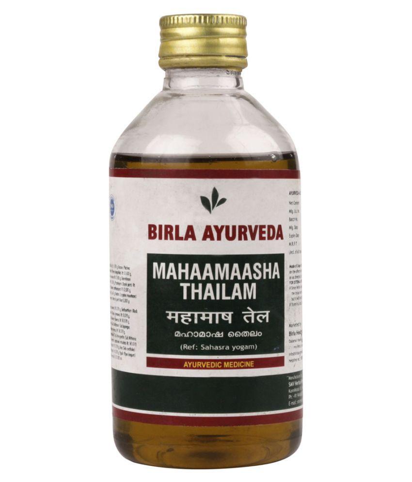 Birla Ayurveda Mahamasha Tailam Oil 200 ml Pack Of 1