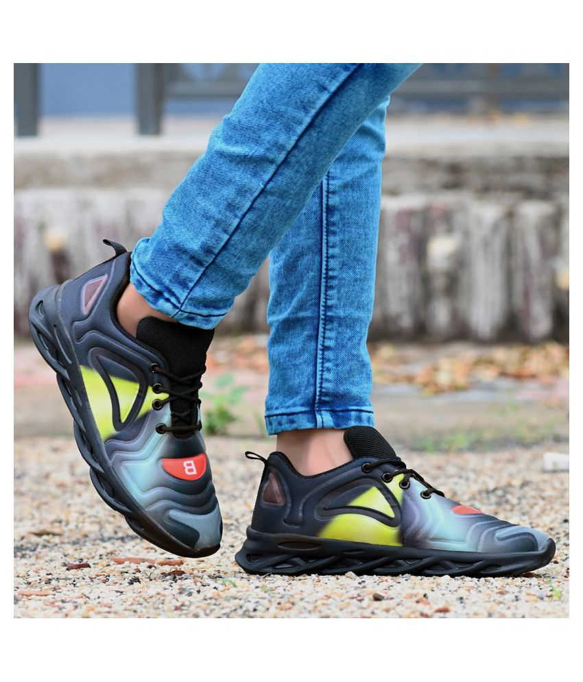 Bucik Sneakers Black Casual Shoes