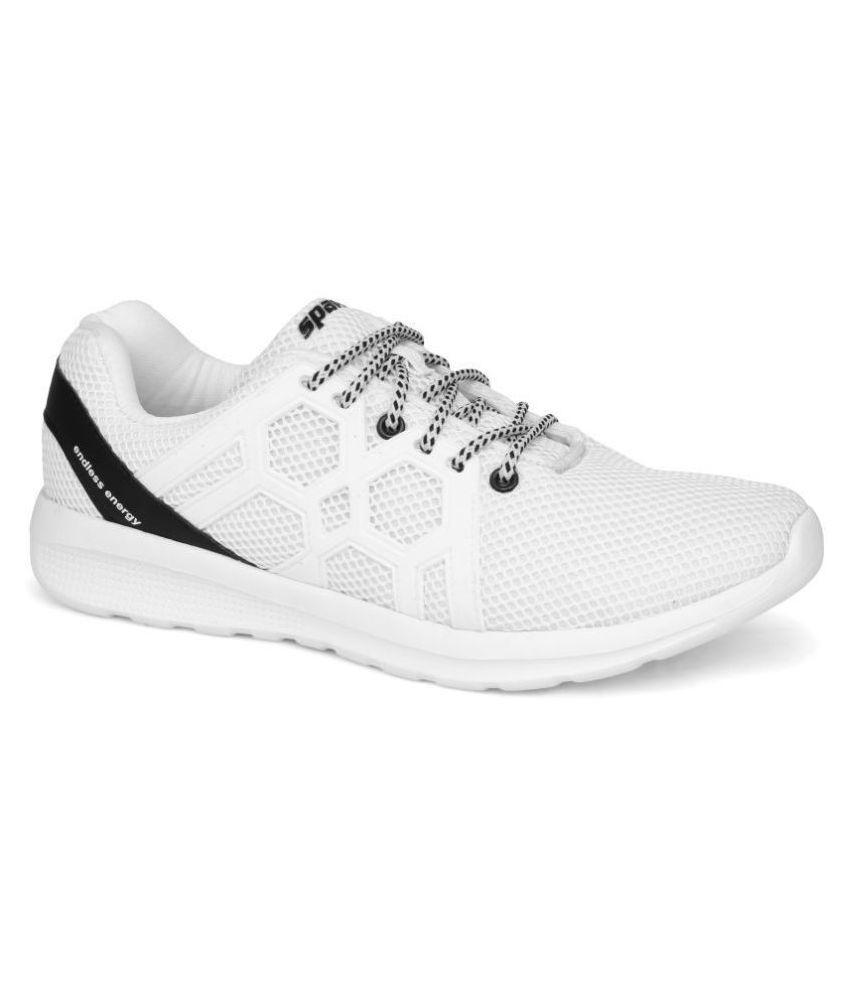Sparx Men SM-421 White Running Shoes