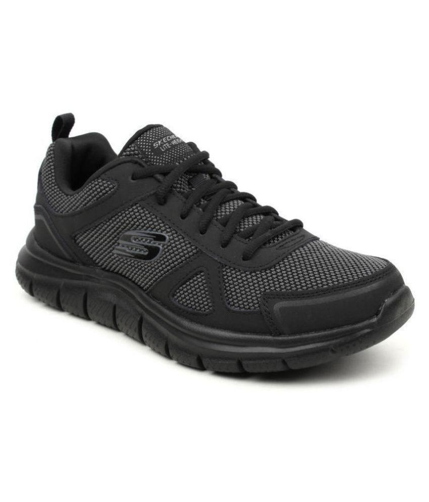 Skechers 52630-BBK Black Running Shoes