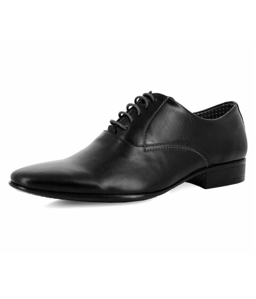 Alberto Torresi Oxford Genuine Leather Tan Formal Shoes