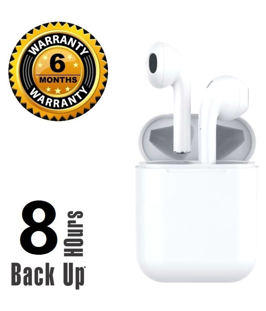 REBORN 8 HOURS NON STOP BACKUP HIGH QUALITY Ear Buds Wireless With Mic Headphones/Earphones