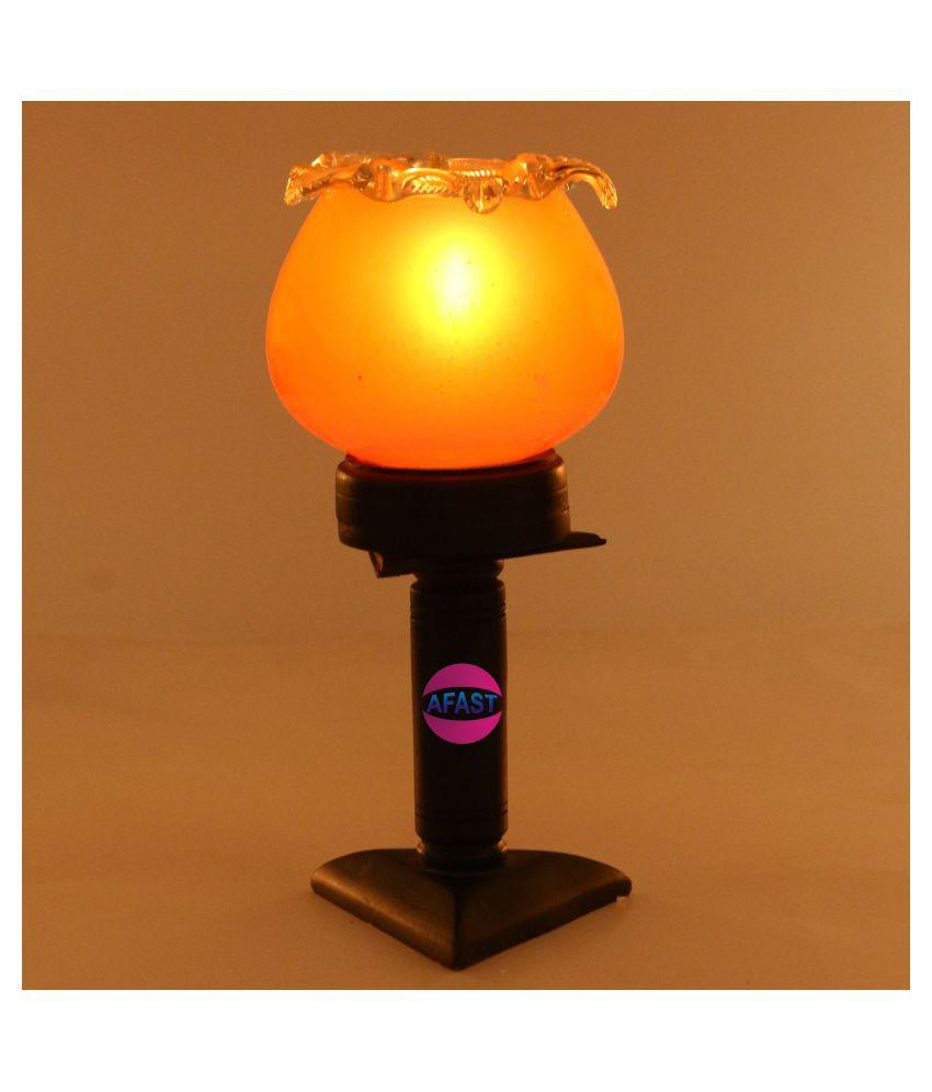 Somil Orange Pillar Candle - Pack of 1