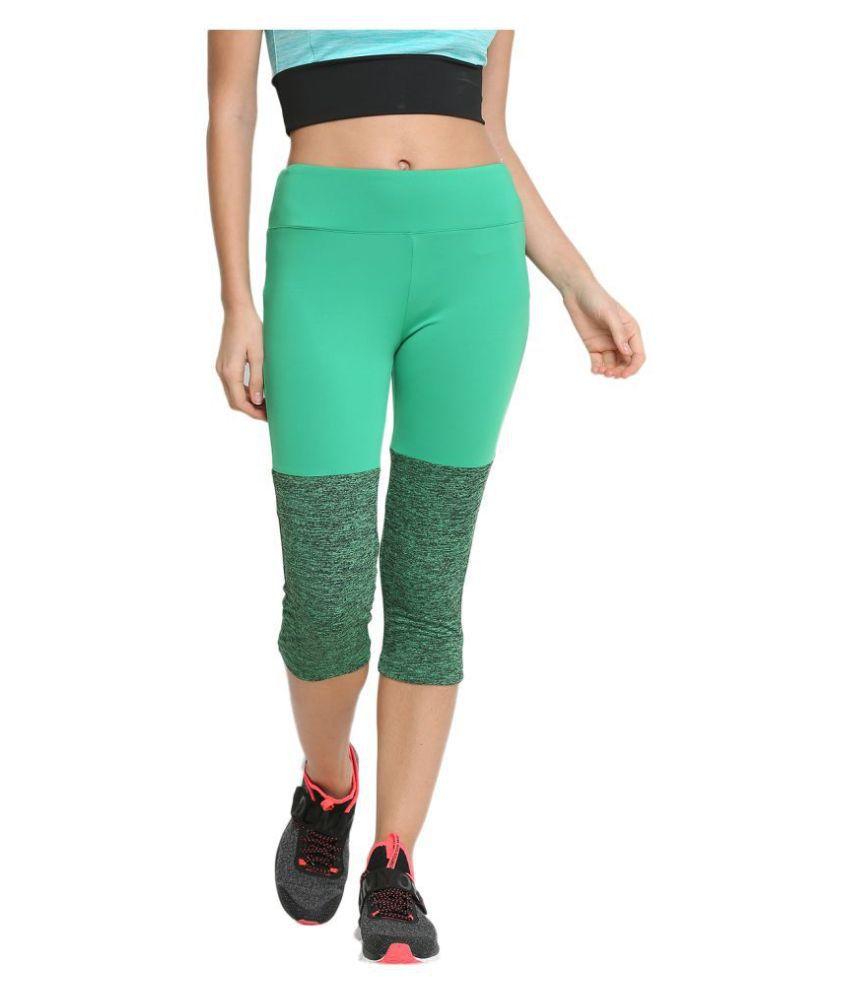 CHKOKKO Sportswear Stretchable Yoga Workout Gym Capri Women Gym Wear Women/Tight Women/Yoga Dress