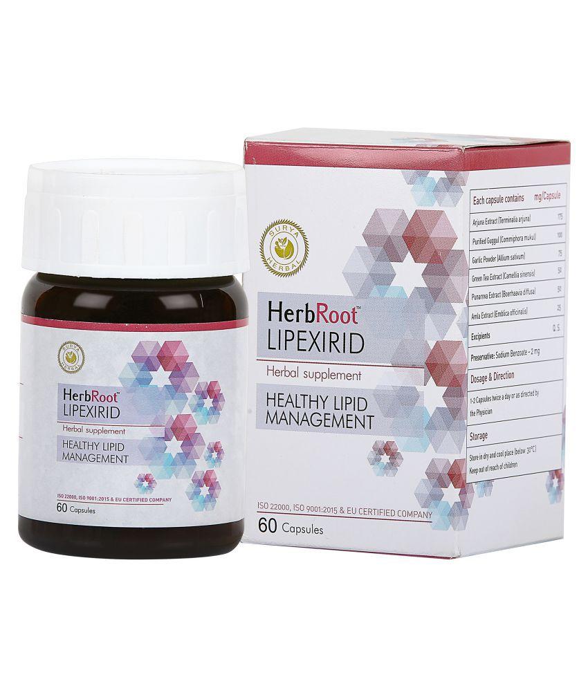 HerbRoot ROOT LIPEXIRID Capsule 60 no.s Pack Of 1