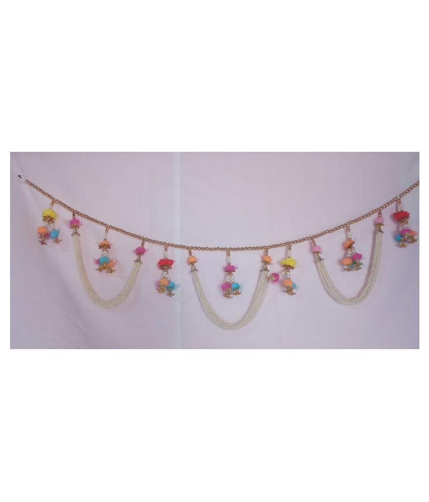DIVYAM Plastic Diwali Toran - Pack of 1