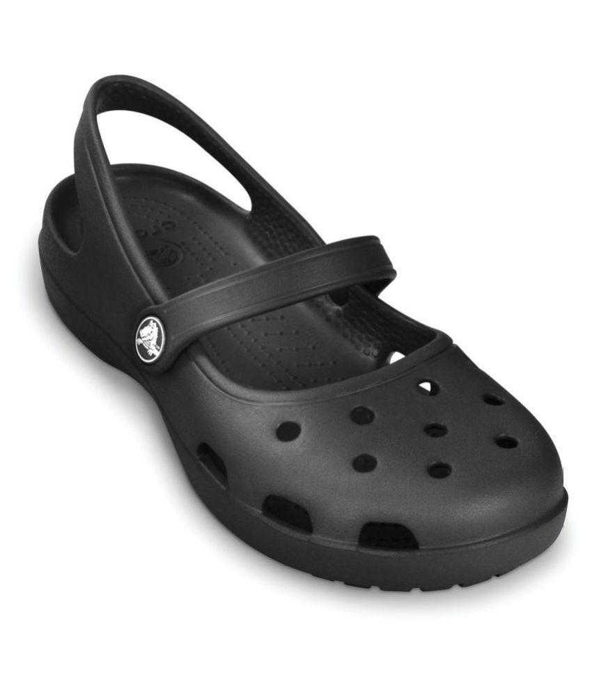 Crocs Shayna Girls Black Mary Jane