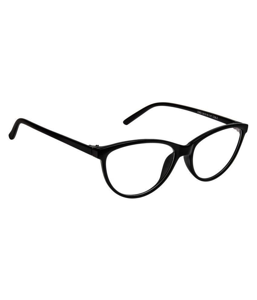 David Blake Black Cateye Spectacle Frame 2363