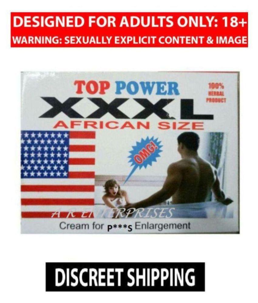 XXXL African Size Cream For Penis Enlargement Kamveda