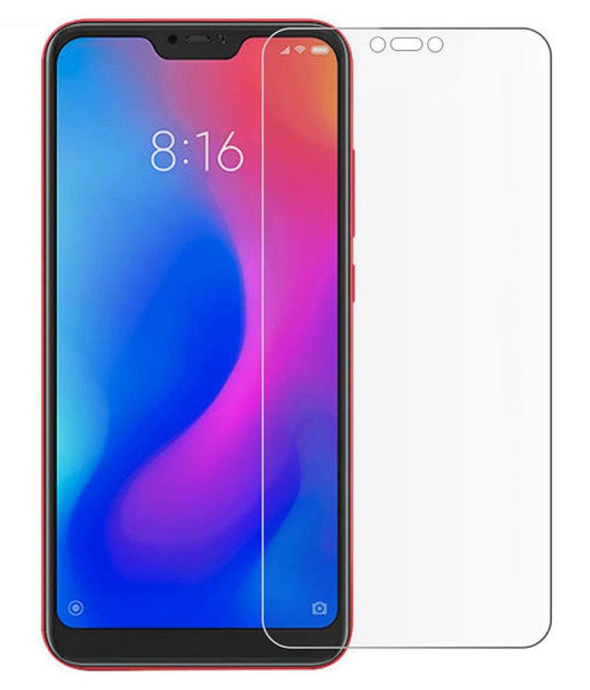 Xiaomi Redmi Note 6 Pro Clear Screen Guard By MONDAL 9H HARDNESS