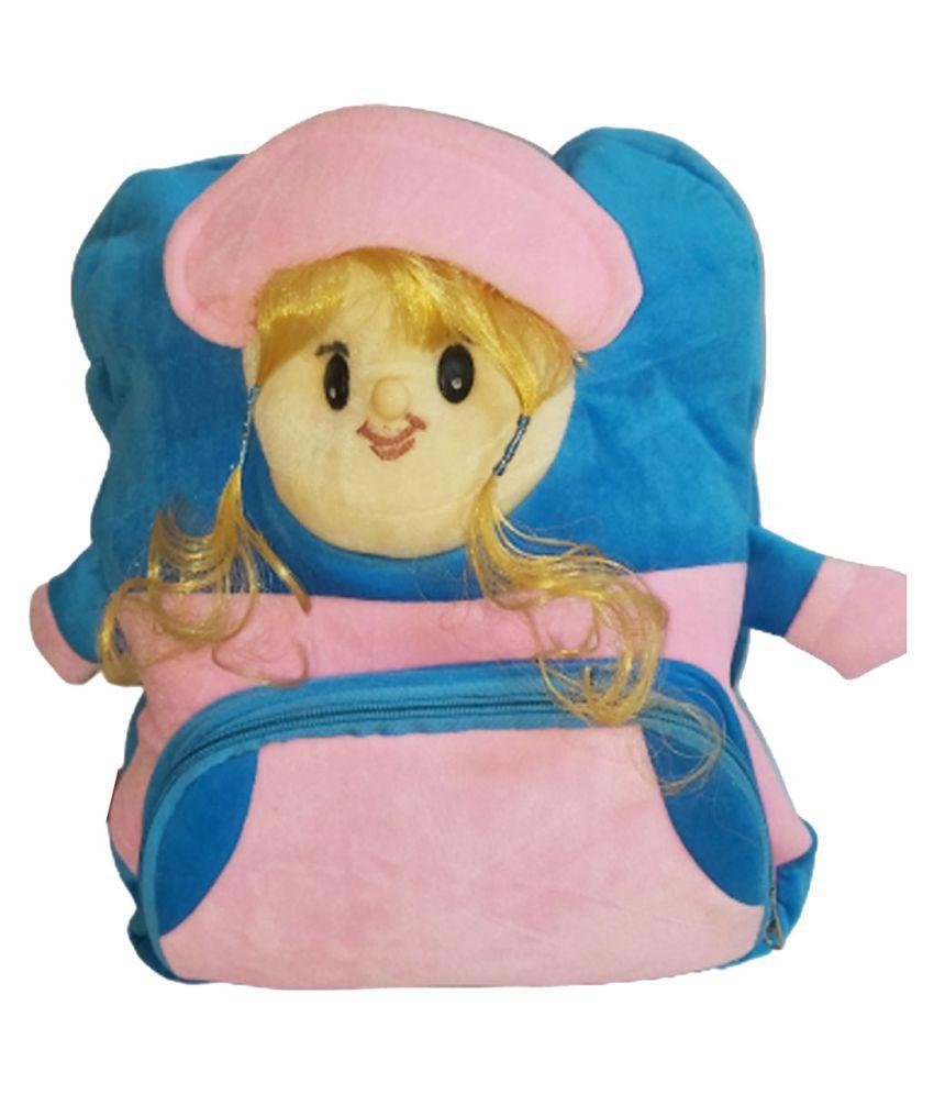 Sirji Blue School Bag for Girls
