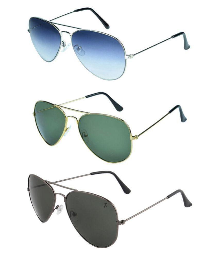 Zyaden Sunglasses Combo ( 3 pairs of sunglasses )