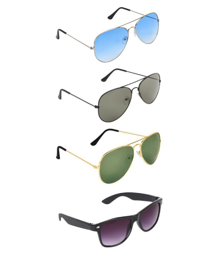 Zyaden Sunglasses Combo ( 4 pairs of sunglasses )