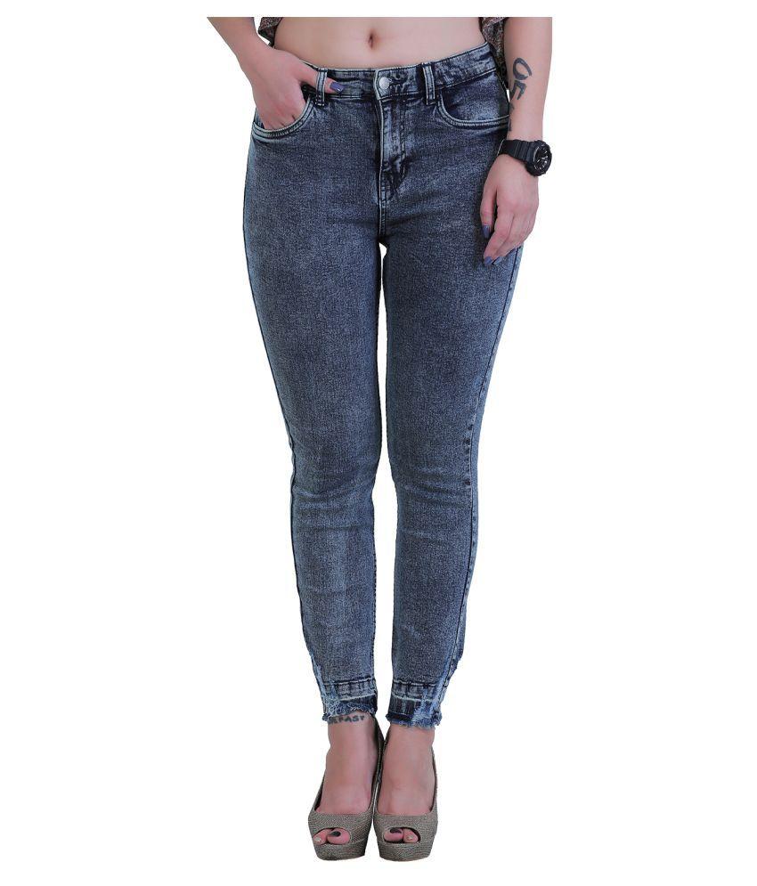 Sisney Denim Lycra Jeans - Grey