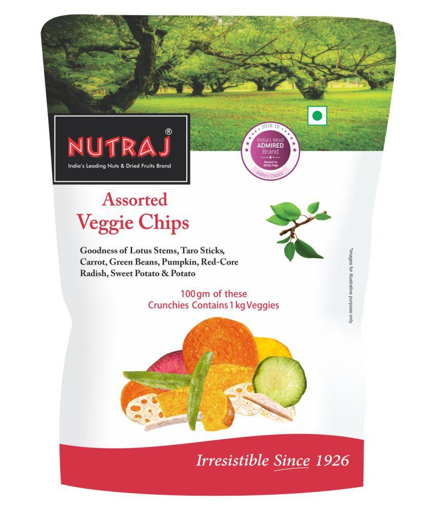 Nutraj Assorted Veggie Chips 200g (4 X 50g)