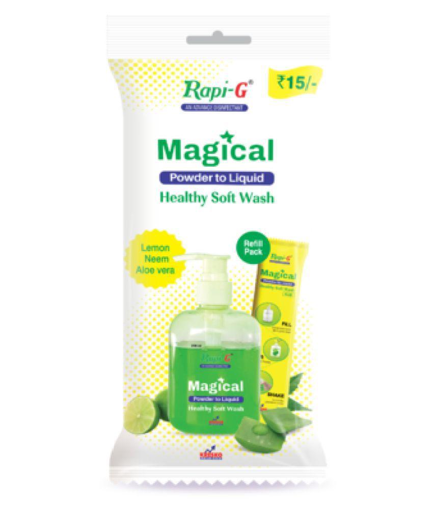 RapiG Hand Wash 200 mL Pack of 20